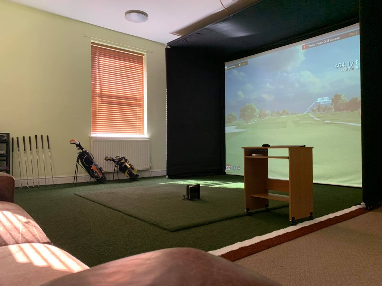 indoor golf simulator chesterfield